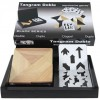 Double Tangram in wooden case