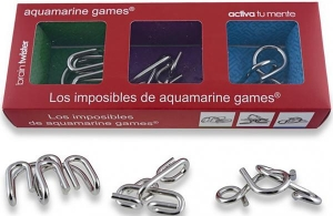 PACK 3 METAL IMPOSSIBLES (Set de 3 puzzle logice din metal)