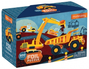 100 PC FOIL PUZZLE/CONSTRUCTION (NEW)