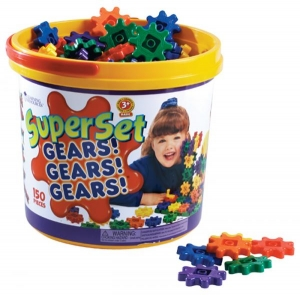 GEARS! GEARS! GEARS!® 150-PIECE SUPER BUILDING SET
