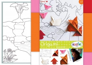 SET CREATIV ORIGAMI WALL ART FOREST